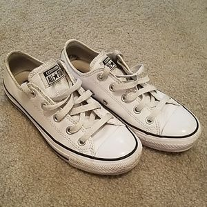 Leather Converse Sneakers